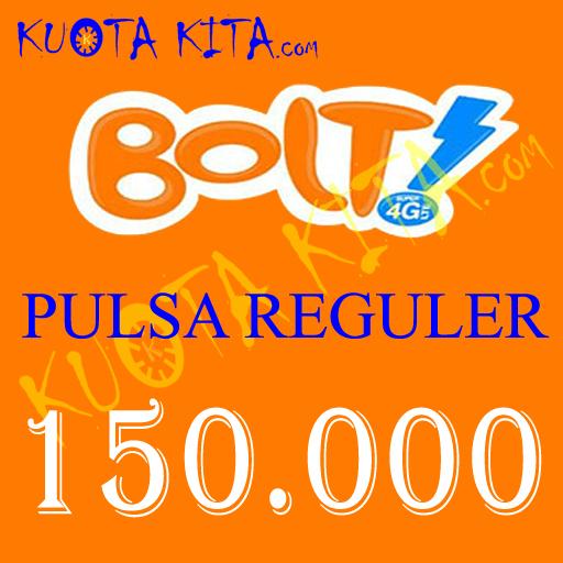 Pulsa Bolt - Bolt 150.000