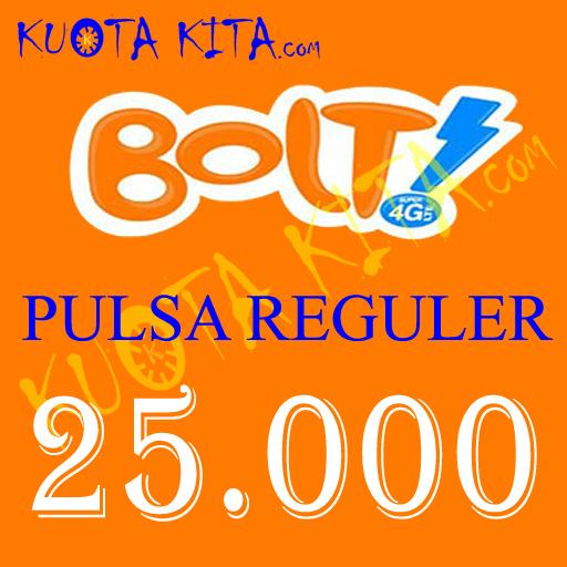 Pulsa Bolt - Bolt 25.000