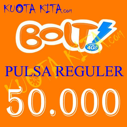 Pulsa Bolt - Bolt 50.000
