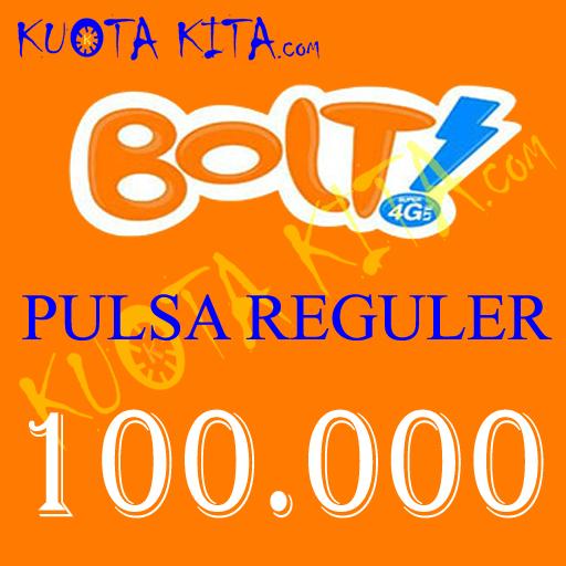 Pulsa Bolt - Bolt 100.000