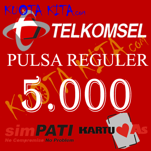 Pulsa Telkomsel - Telkomsel 5.000
