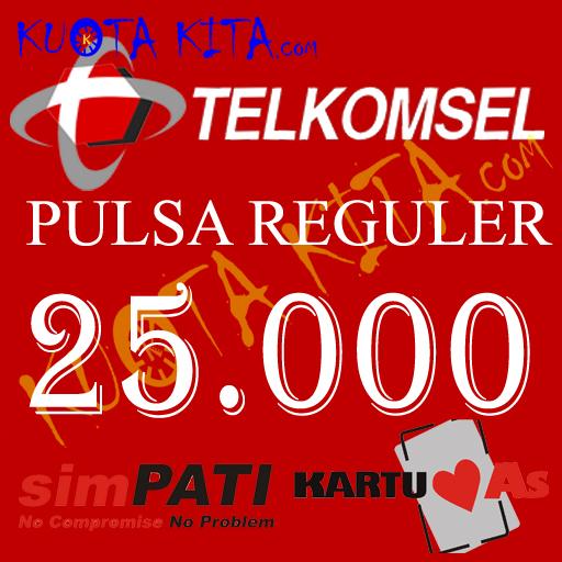 Pulsa Telkomsel - Telkomsel 25.000