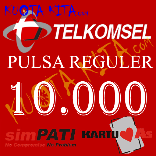 Pulsa Telkomsel - AS / simPATI 10.000
