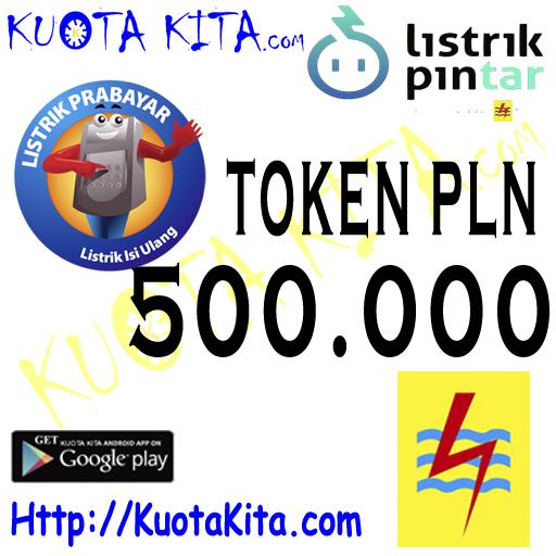 Token PLN PLN - TOKEN PLN 500rb